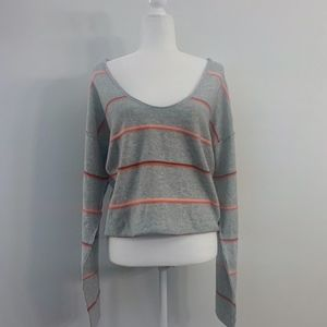 Free People Stripes Sweater New w/Tags